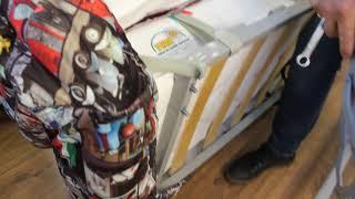 видео Купить матрас для дивана-книжки или «клик-кляк»