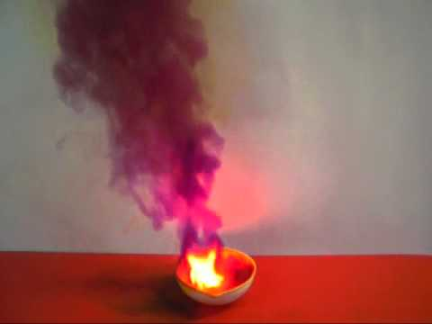 Aluminium And Iodine Reaction 2 Youtube