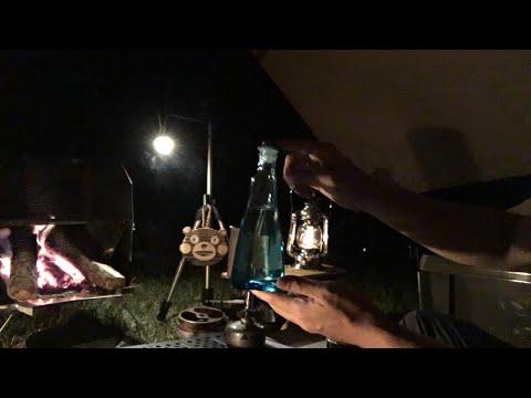 秋の夜長のソロキャンプライブ配信