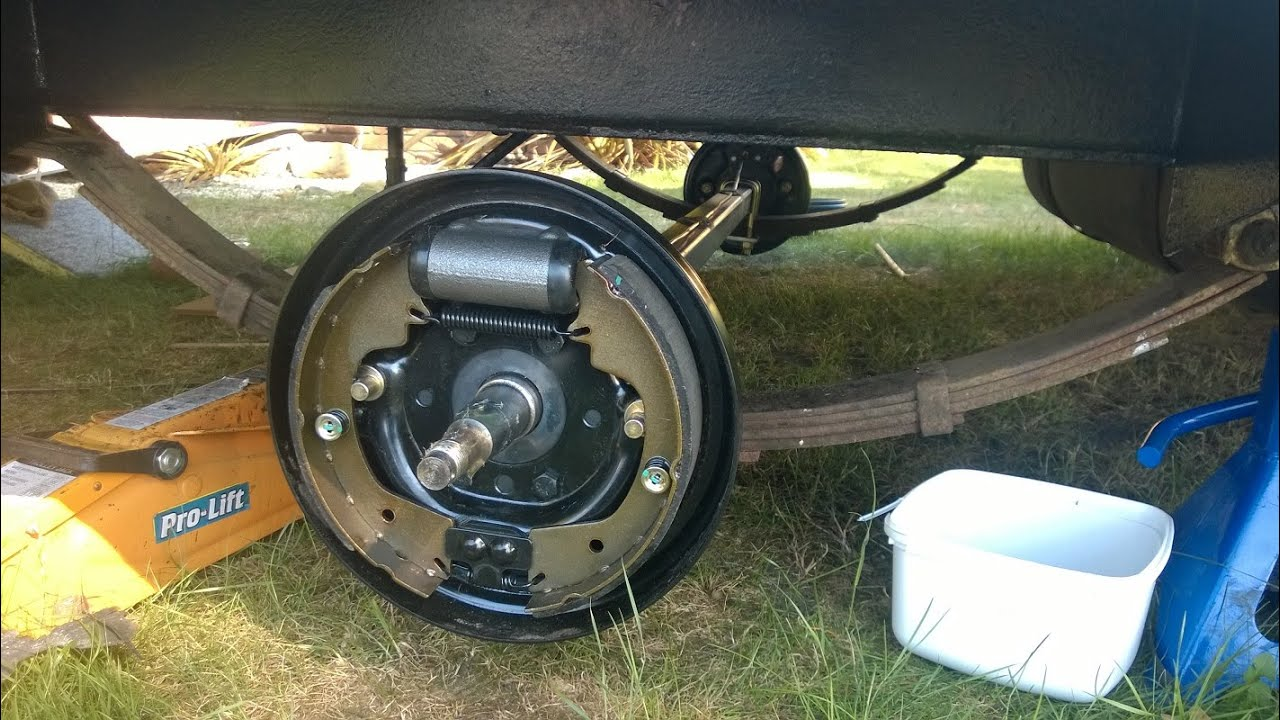 1977 Franklin Caravan Update 9 New Axle And Brakes Youtube