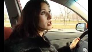 Уроки вождения   Инструктор Женщина   Задний ход