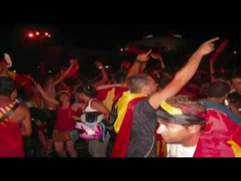 Футбольный гимн в Испании - Калинка - Малинка !!!