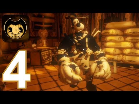 Bendy And The Ink Machine Mobile - Gameplay Walkthrough Part 4 - Chapter 4 (iOS, Android)