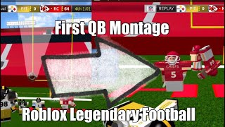 ROBLOX Legendary Football QB Montage #1