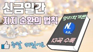 [뉴피디]신금일간 지지순환의 법칙(feat.명리학개론)