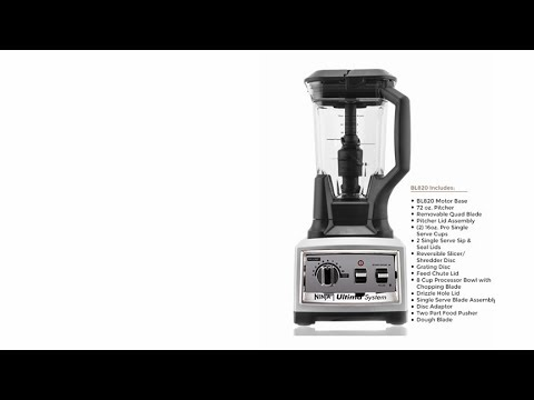 ninja® ultima™ bl820 kitchen system - youtube