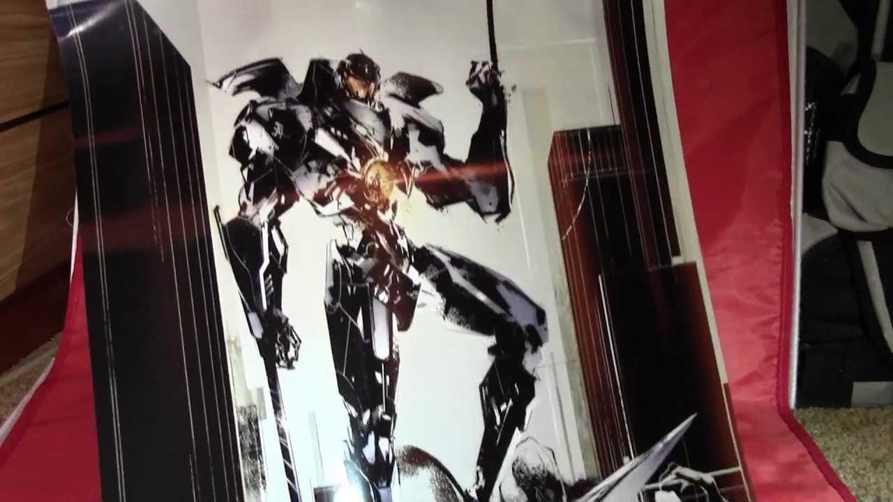 Metal Gear Artist Draws KickAss Pacific Rim Poster