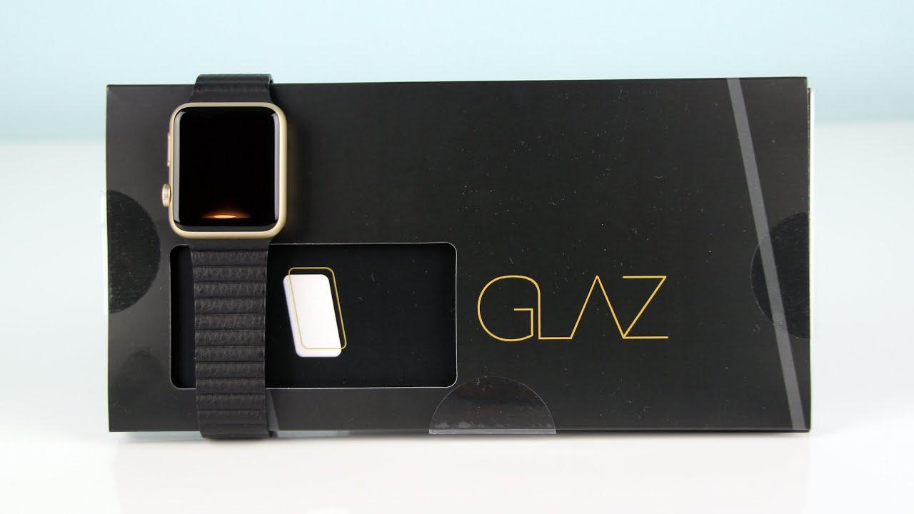 glaz liquid f r die apple watch der durchsichtige. Black Bedroom Furniture Sets. Home Design Ideas