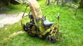 Brott 202 Ride on Flail Grass Cutter