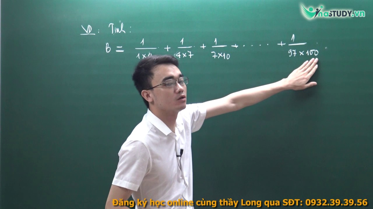 [Toán nâng cao lớp 5] – Tư duy bài toán tính nhanh phân số  – thầy Nguyễn Thành Long