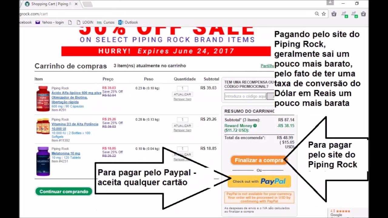 ca0a294b7 Como comprar na Piping Rock (Brasil) - Passo a passo! - YouTube