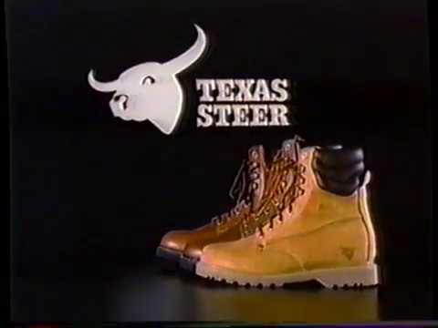 1988 Kmart Texas Steer Boots TV