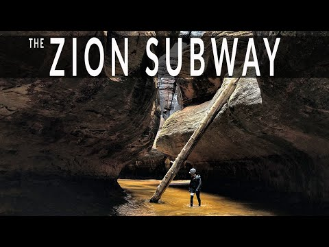 The Zion Subway - Top Down Canyoneering Route - Zion National Park