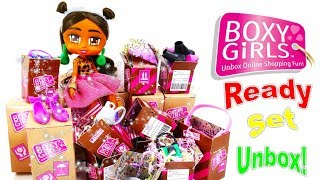 New BOXY GIRLS Doll and Fashion Pack Unboxing and Review