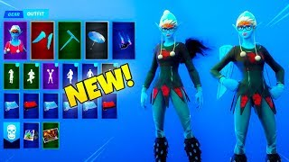 *NEW* DARK Sugarplum V2 SKIN!! (PC Glitch) Fortnite Battle Royale