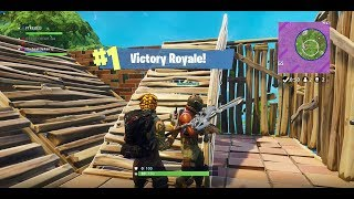 FORTNITE Battle Royale Victory Royale with Subscribers David's Cards and Hunter Trybula