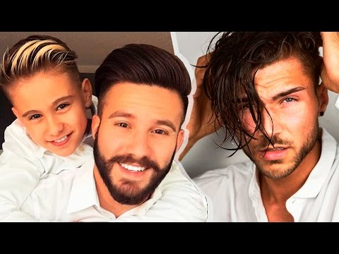 20 Cool Men's Hairstyles & Haircuts Tutorials | Men's Hairstyles Compilation❄2017❄