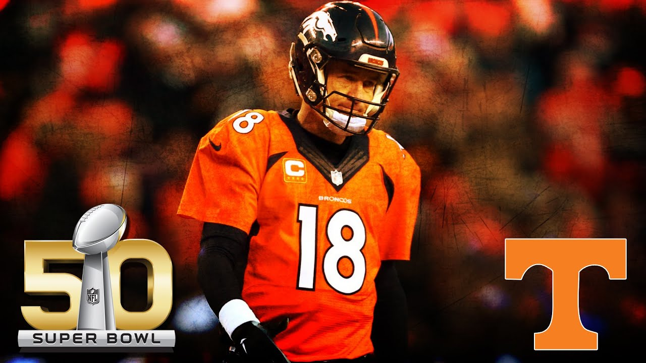wholesale dealer baf24 f622f Broncos' Peyton Manning: Tennessee Highlight Video | CampusInsiders