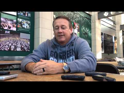 MSU's Mark Snyder compares Mark Dantonio to Jim Tressel