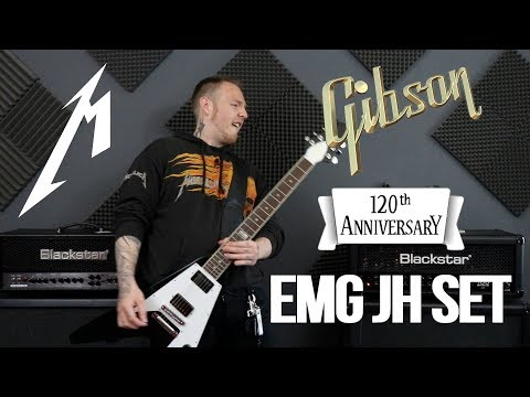 Gibson 120th Anniversary Flying V With The EMG Het Set!
