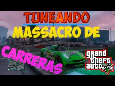   TUNEANDO EL NUEVO MASSACRO DE CARRERAS   DLC NAVIDAD GTA V ONLINE 1.19  