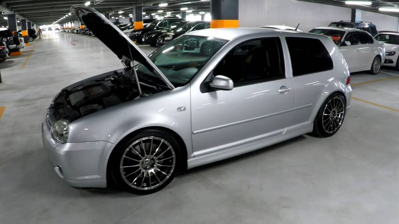 2002 Volkswagen Golf R32 3.2L V6, 6spd & AWD at Japanese (JDM) Car Auction - YouTube