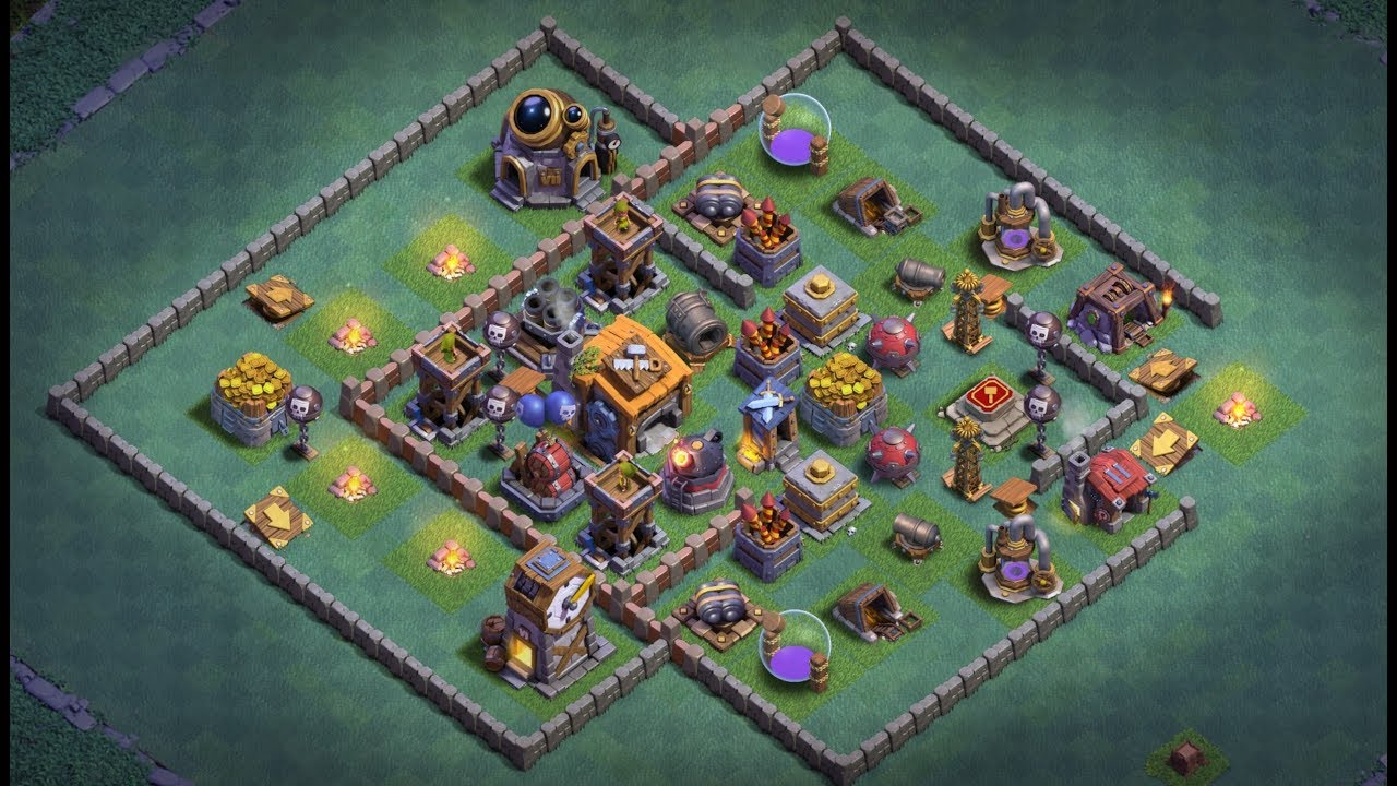 Best Builder Hall 7 Bh7 Base 2019 New Anti 1 Stars Youtube