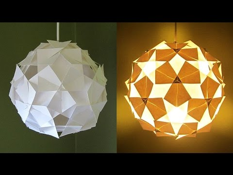 Diy Pendant Lampshade Clover Pattern Home And Room