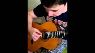 Как научиться играть красивую мелодию на гитаре за 5 минут.