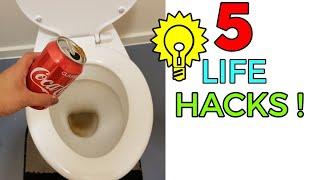5 LIFE HACKS EVERYONE NEEDS TO KNOW !