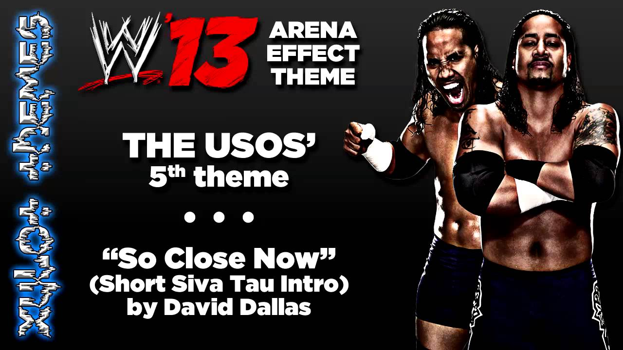 Wwe 39 13 arena effect theme the usos 39 5th wwe theme so - The usos theme song so close now ...