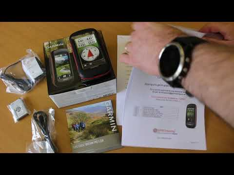 Garmin Montana 680 with Whole GB OS TOPO Great Britain PRO