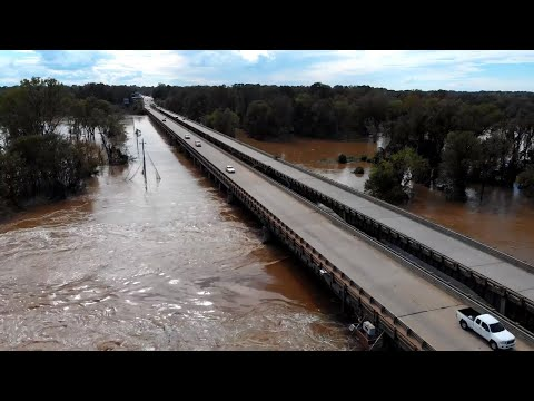 Pee Dee River in Cheraw rose to record-breaking heights