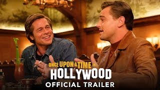 """In this town, it can all change…like that."" Watch the new #OnceUponATimeInHollywood trailer - in theaters July 26.  https://www.OnceUponATimeInHollywood.movie  Follow Us On Social: https://www.facebook.com/OnceInHollywood https://www.twitter.com/OnceInHollywood https://www.instagram.com/OnceInHollywood  Subscribe to Sony Pictures for exclusive content: http://bit.ly/SonyPicsSubscribe  Quentin Tarantino's ONCE UPON A TIME IN HOLLYWOOD visits 1969 Los Angeles, where everything is changing, as TV star Rick Dalton (Leonardo DiCaprio) and his longtime stunt double Cliff Booth (Brad Pitt) make their way around an industry they hardly recognize anymore. The ninth film from the writer-director features a large ensemble cast and multiple storylines in a tribute to the final moments of Hollywood's golden age.    #LeonardoDiCaprio #BradPitt #QuentinTarantino #MargotRobbie #Hollywood #Sony #OfficialTeaser #Trailer"