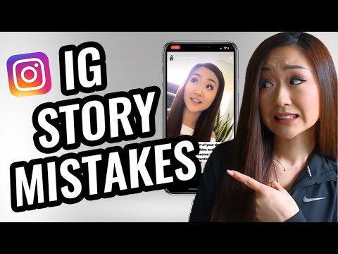 Top Mistakes You're Making With Instagram Stories (ROOKIE Mistakes!)