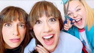 CUTTING OUR OWN BANGS!
