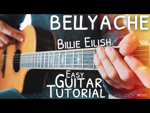 bellyache Billie Eilish Guitar Tutorial // bellyache Guitar // Guitar Lesson #579