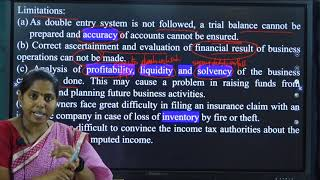 I PUC |ACCOUNTANCY | ACCOUNTS FROM INCOMPLETE RECORDS - 01