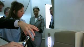 Etihad Airways 787 guided tour