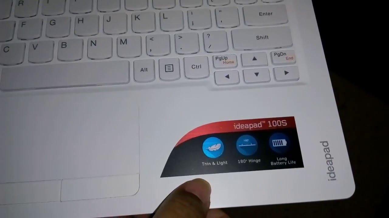 Review Lenovo Ideapad 100s Indonesia Youtube