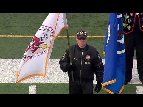 Native American Flag Ceremony At Minnesota Vikings Game