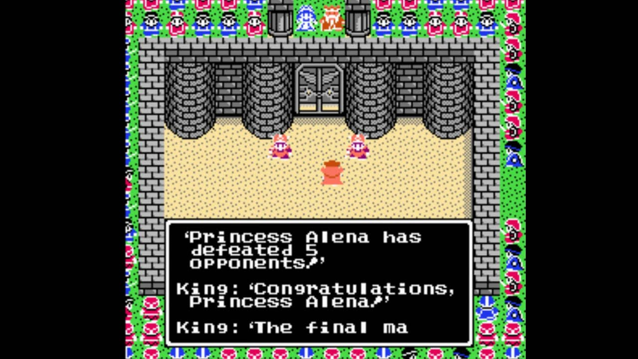 Dragon Warrior Iv Nes Tournament And End Of Chapter 2 Youtube