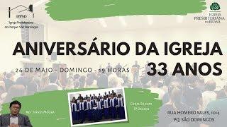 I. P. Pq. São Domingos - 26/05/2019 - ANIVERSÁRIO I.P. PARQUE SÃO DOMINGOS 33 ANOS..