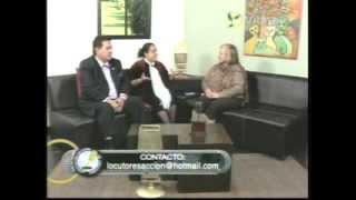 "Entrevista a Victoria Carrasco Sánchez-""Locutores en Acción""deDra. Rosalía Buaún-VibraTV-18-01-14"