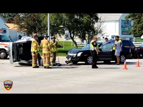 Rollover accident in Sheboygan on August 24, 2017