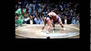 琴奨菊vs大砂嵐 大相撲平成27年秋場所 Kotoshogiku vs osunaarashi Sumo.