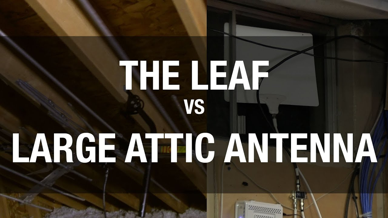 Antenna For Cord Cutters Leaf Vs Large Aerial Attic