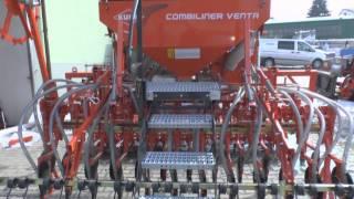 KUHN COMBILINER VENTA + HRB 302 + VALTRA N123 HiTech