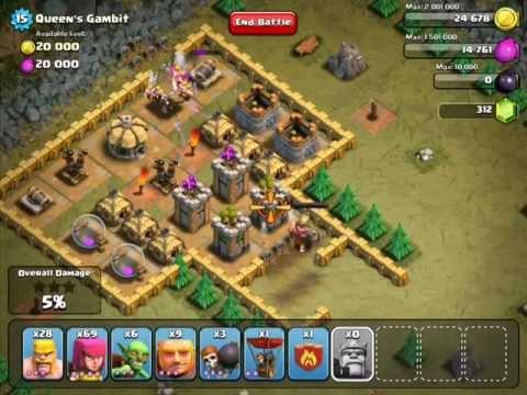 Clash Of Clans Queens Gambit