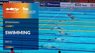 RE-LIVE | Swimming Day 2 | Main Pool | FINA World Masters Championships 2019